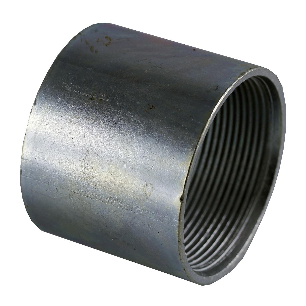 Galvanized rigid threaded coupling