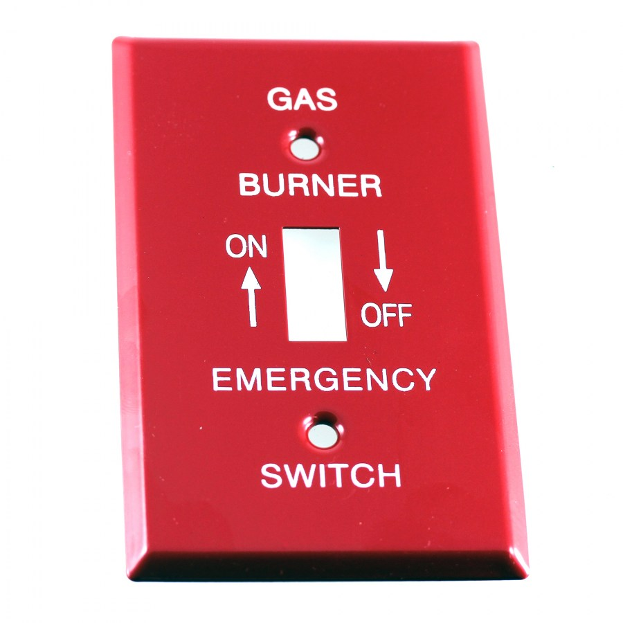 "4"" Emergency Wall Plate, Utility"