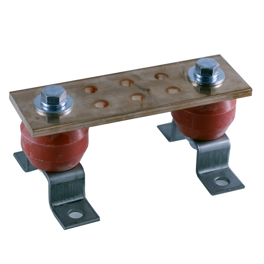 COPPER GROUNDING BUS BAR 6""