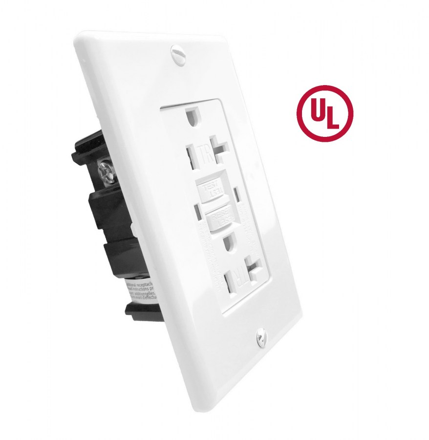 GROUND FAULT CIRCUIT INTERRUPTER RECEPTACLE TR GFCI