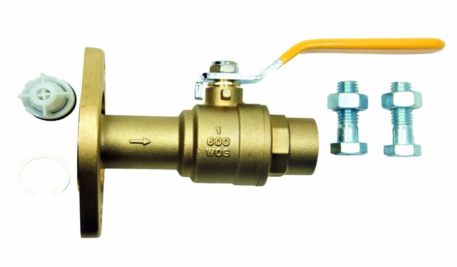 Brass Flange Ball Valve
