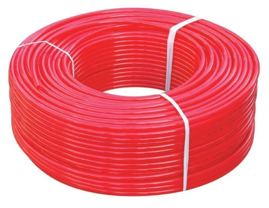 Red Pex Tubing Potable Water NonBarrier